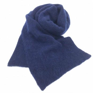 Echarpe bleu foncé