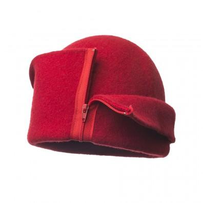 Bonnet avec zip