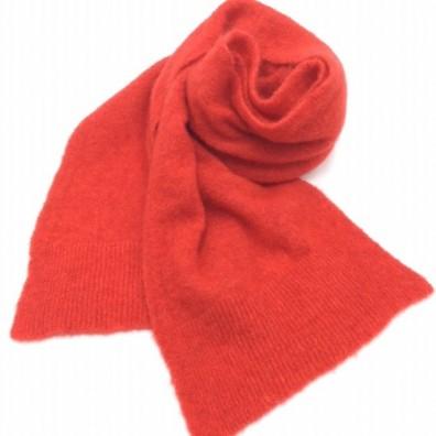 Echarpe rouge vif